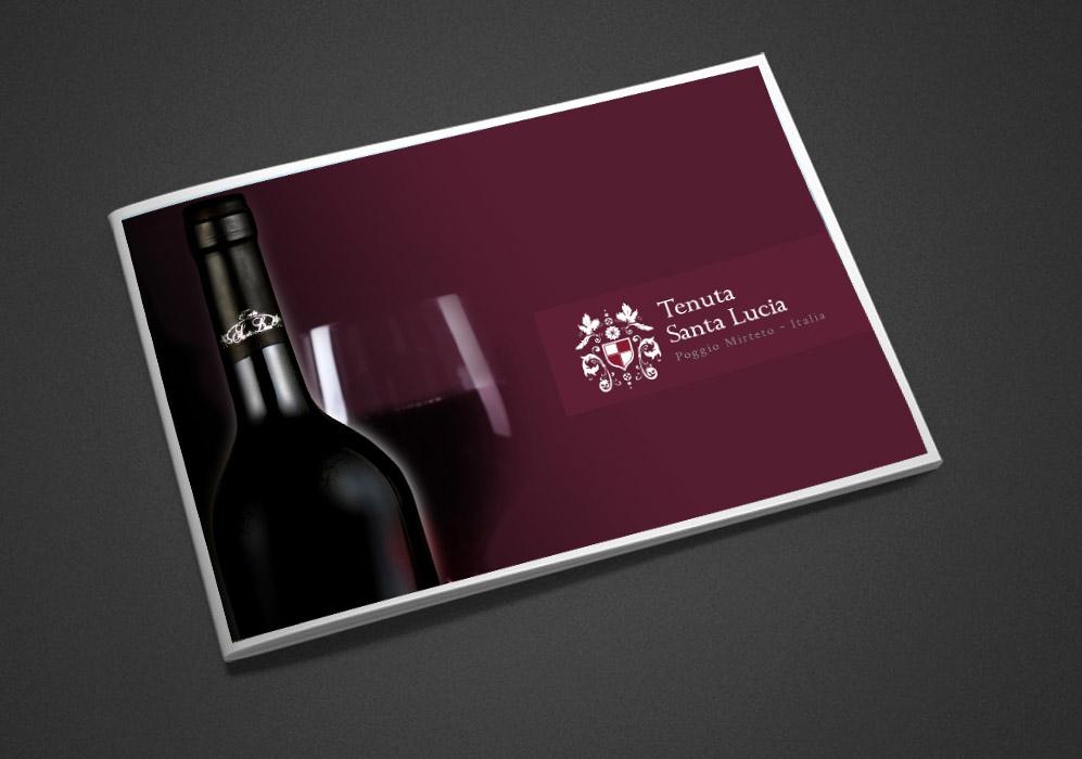 Cover brochure Tenuta Santa Lucia - Poggio Mirteto (Ri)