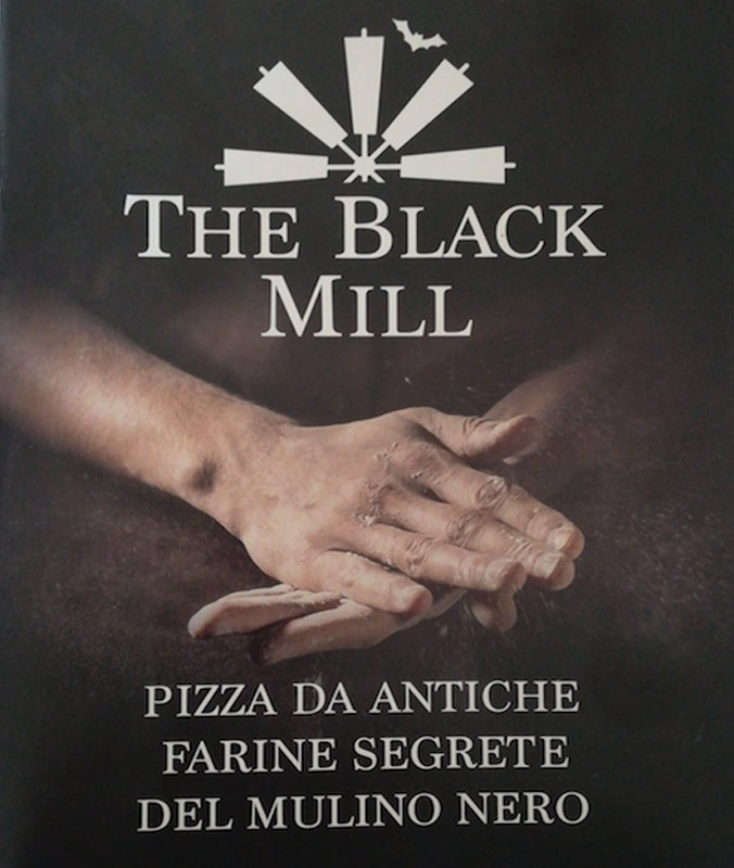 Menu The Black Mill